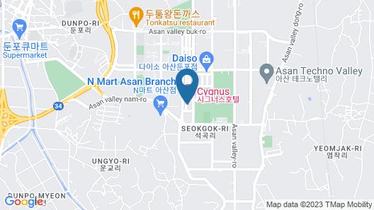CYGNUS Hotel Map