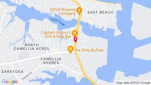 Econo Lodge Little Creek Map