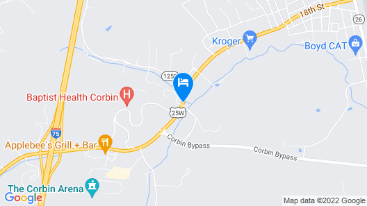 Holiday Inn Express & Suites Corbin Map