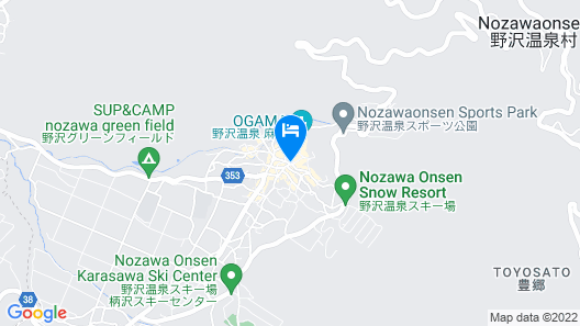Tanuki Lodge Map