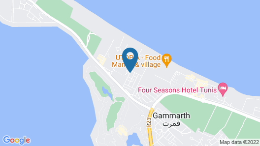 Carthage Thalasso Resort Map