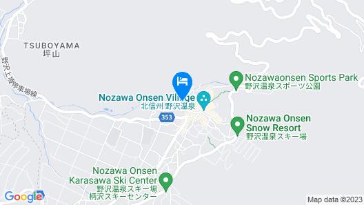 Kawaichiya Ryokan Map