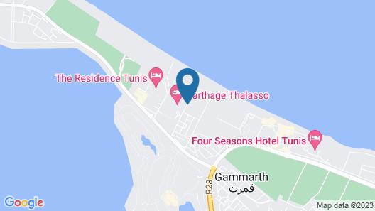 Ramada Plaza by Wyndham Tunis Map
