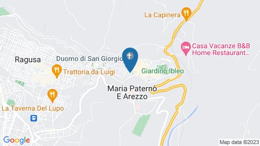 San Giorgio Palace Hotel Map
