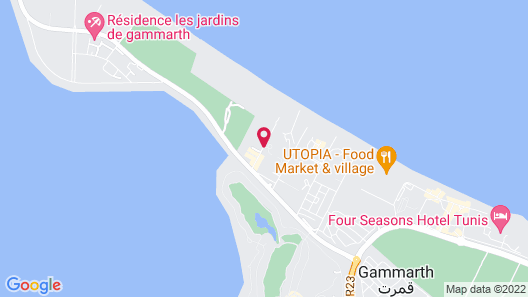 The Residence Tunis Map