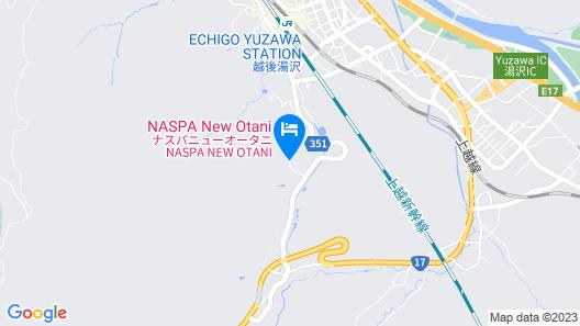 NASPA NEW OTANI Map
