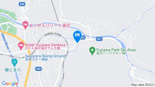 Ebisuya Ryokan Map