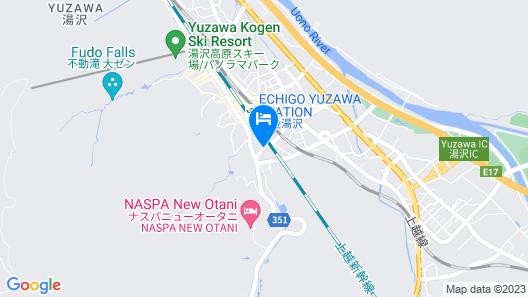 Honjin Sakura-tei Map