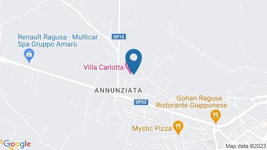 Hotel Villa Carlotta Map