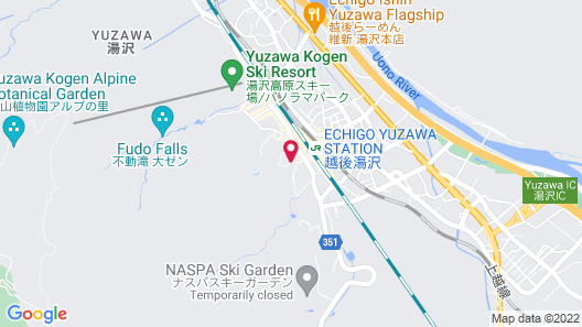 Yuzawa Grand Hotel Map