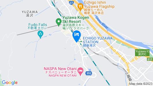 Echigo Yuzawa Hatago Isen Map