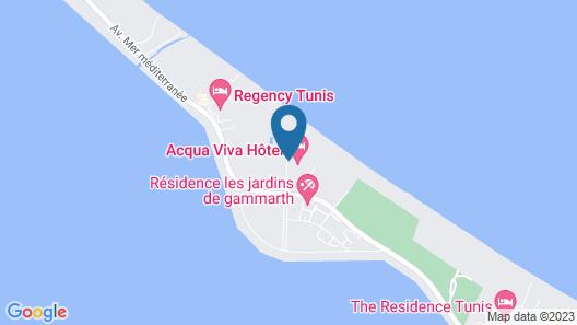 Acqua Viva Hôtel Map