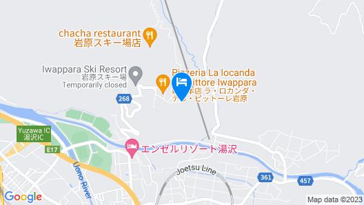 HOTEL ALPHASTAR iwappara Map