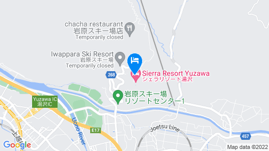 Hotel Sierra Resort Yuzawa Map
