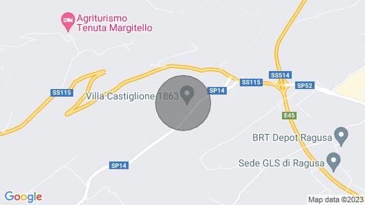 Ai Due Leoni Apartment Ragusa Free Wifi and Free Parking Map
