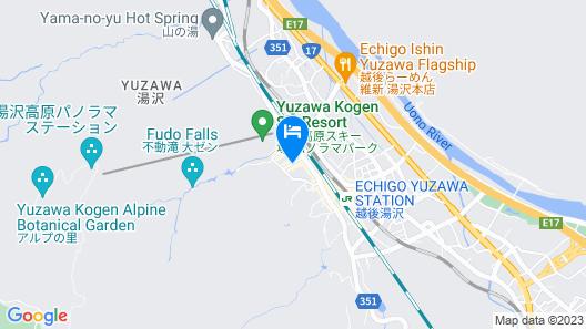Yuzawa New Otani Hotel Map