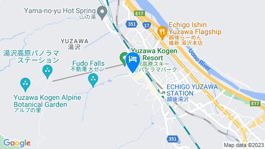 Takinoyu Map