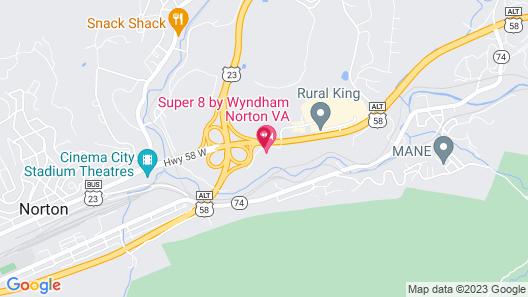 Days Inn by Wyndham Norton Map
