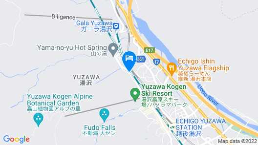 Yuzawa Lodge Schi Heil Map