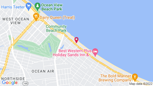 Ocean View Inn Map