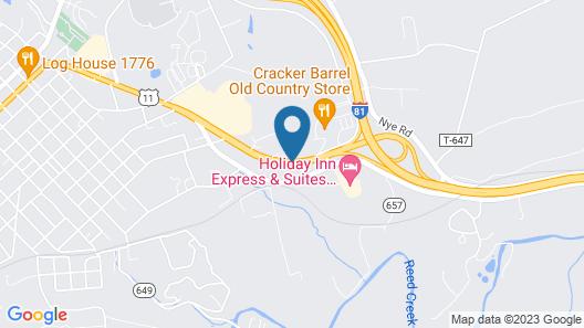 La Quinta Inn & Suites by Wyndham Wytheville Map