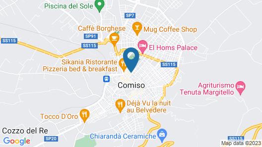 La Terrazza SPA B&B Map