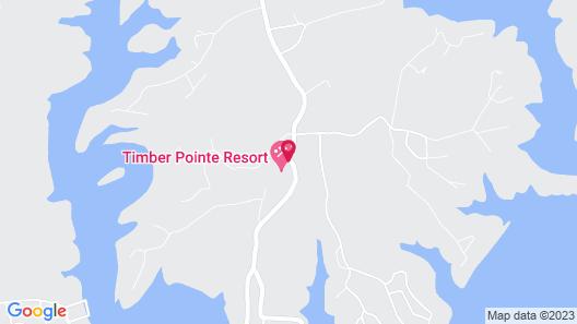 Timber Pointe Resort Map
