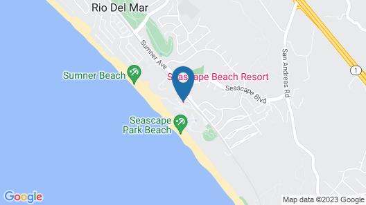 Seascape Beach Resort Monterey Map