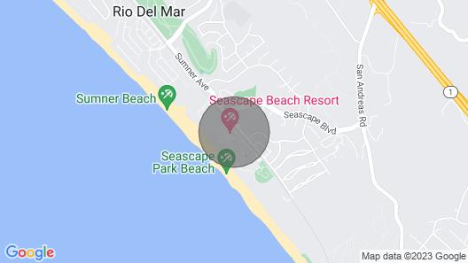 Gorgeous Remodeled Seascape Resort Large 1 Bedroom Map