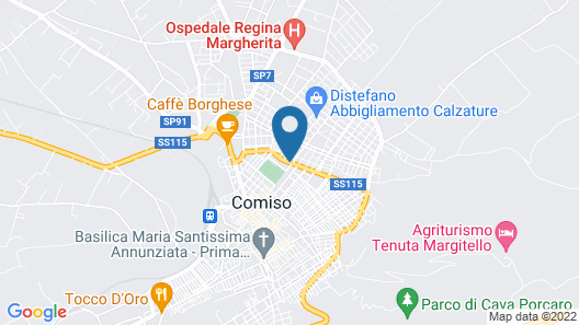 Hotel El Homs Palace Map