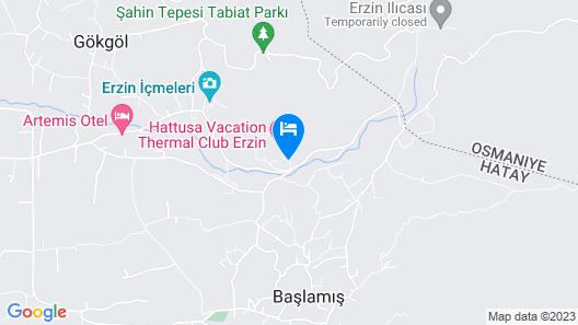 Hattusa Vacation Thermal Club Erzin Map