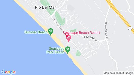 Seascape Beach Resort Monterey Bay Map