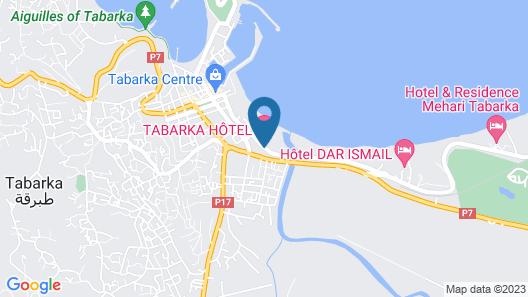 Itropika Hôtel Map