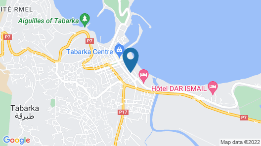Residence Corail Royal Plage Map