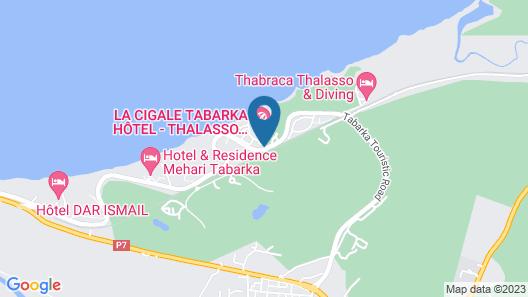 Hotel Dar Ismail Tabarka Map