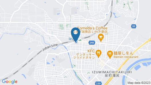 Hotel Route-Inn Iwakiizumi Ekimae Map