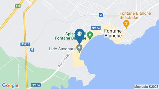 Nicolaus Club Fontane Bianche Map