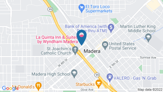 La Quinta Inn & Suites by Wyndham Madera Map