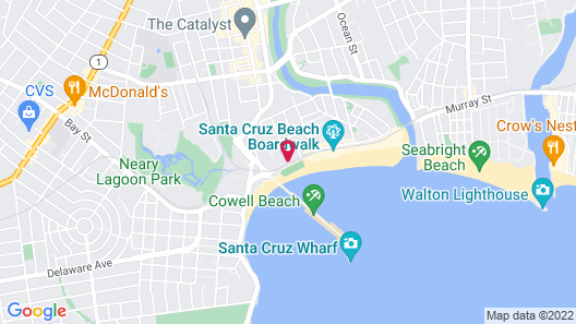 Casablanca On The Beach Map