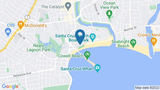 Casablanca On The Beach Map