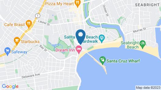 Beachview Inn Map