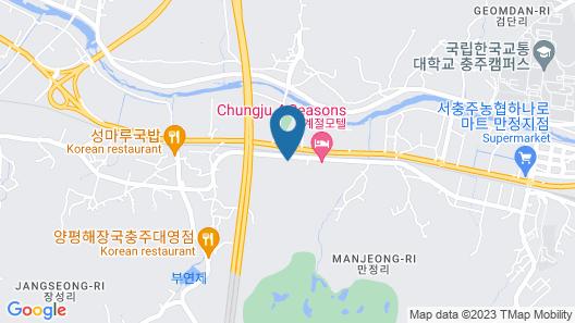 Chungju Design Palwol Map