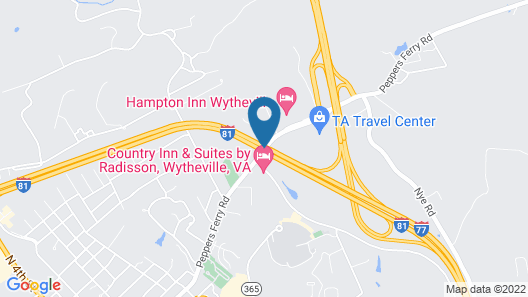 Country Inn & Suites by Radisson, Wytheville, VA Map