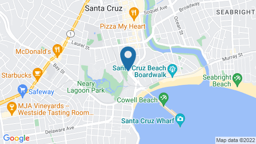 Ocean Pacific Lodge Map
