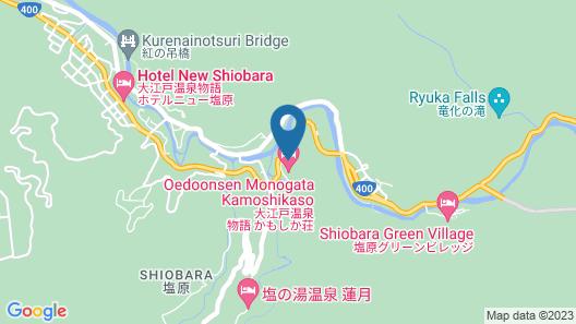 Kanponoyado Shiobara Map