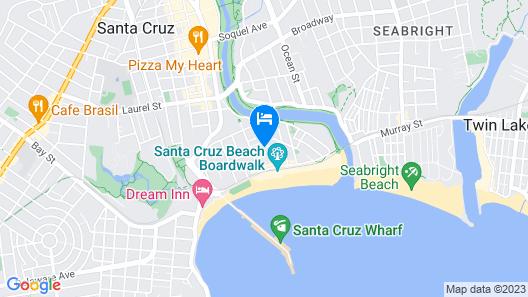 Aqua Breeze Inn Map