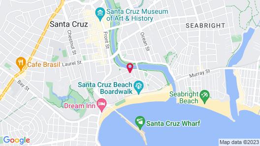 Rio Vista Suites Map