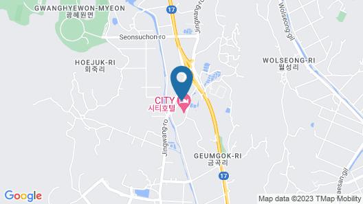 Jewelry Motel Map