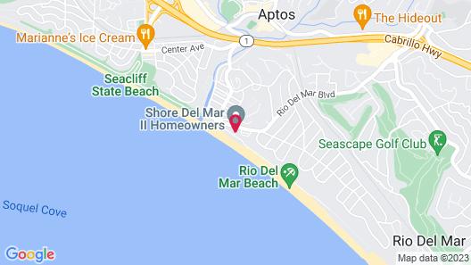 Beachfront 2br/2ba W/ Pool & 180-degree Bay View 2 Bedroom Condo Map