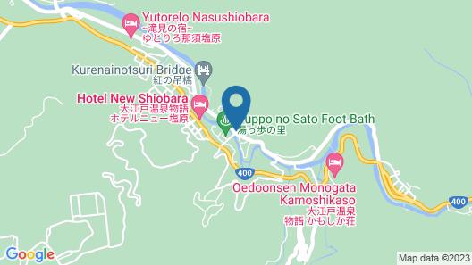 Shiobara Onsen Hotel Map